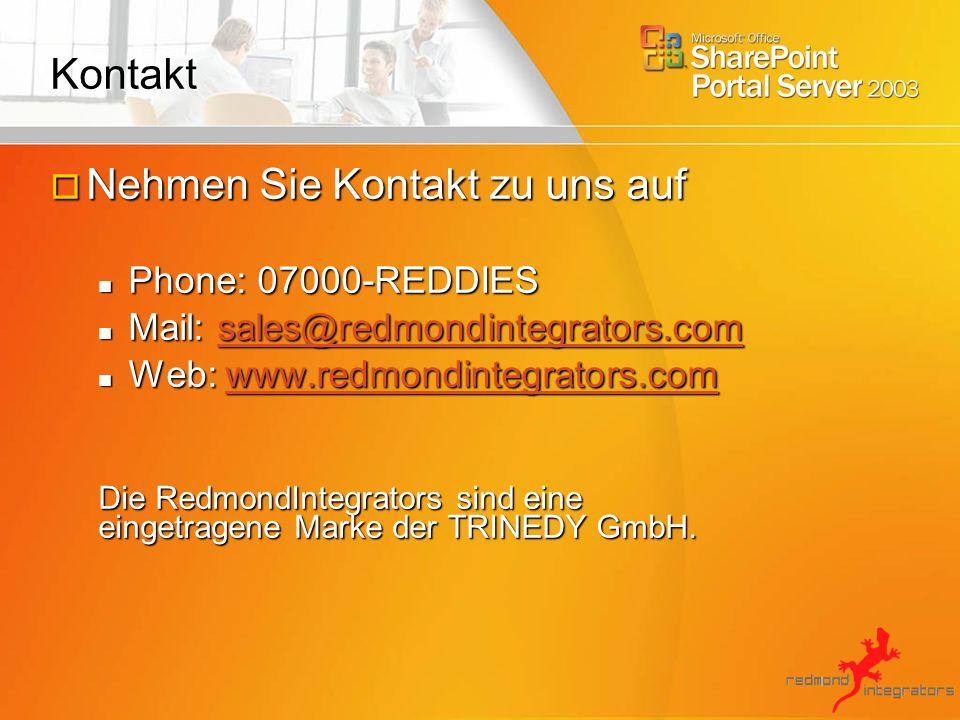 Nehmen Sie Kontakt zu uns auf