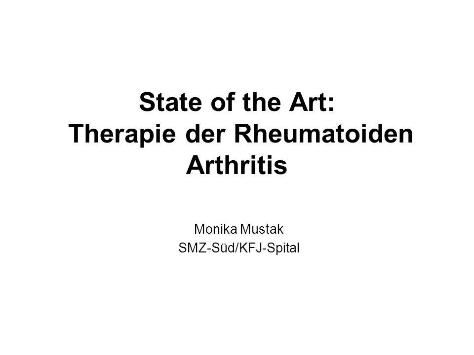 State of the Art: Therapie der Rheumatoiden Arthritis