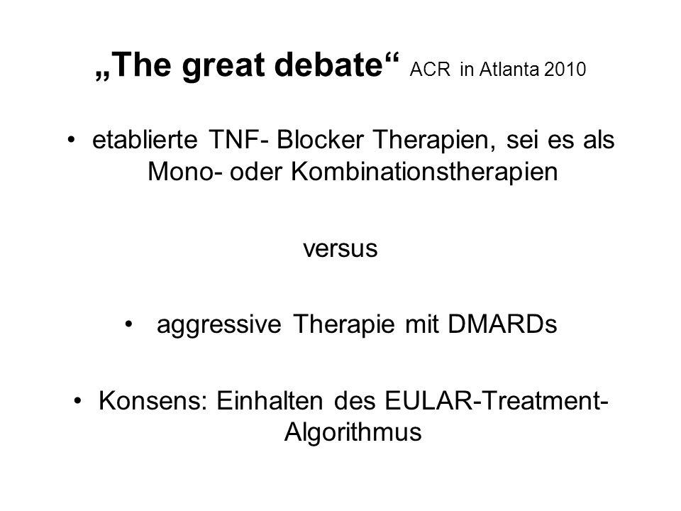 """The great debate ACR in Atlanta 2010"