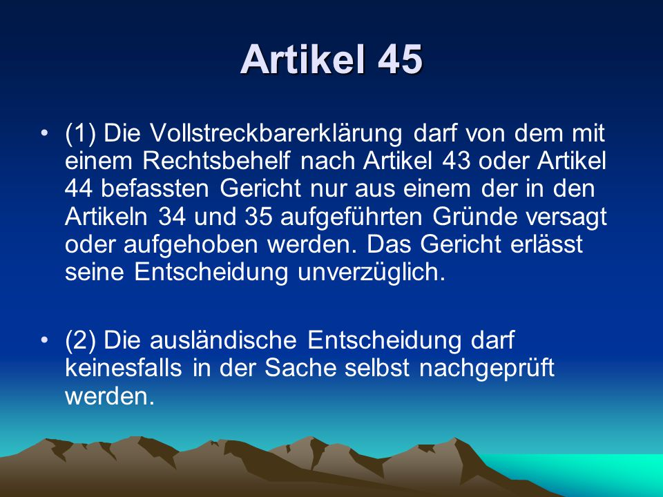 Artikel 45