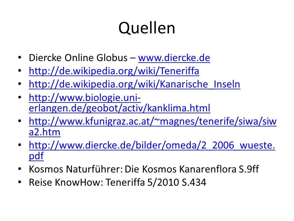 Quellen Diercke Online Globus – www.diercke.de