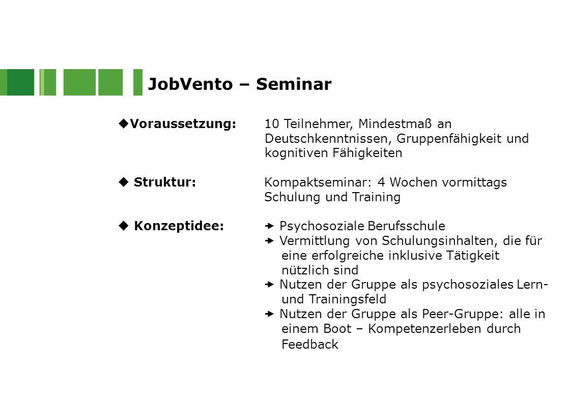 JobVento – Seminar