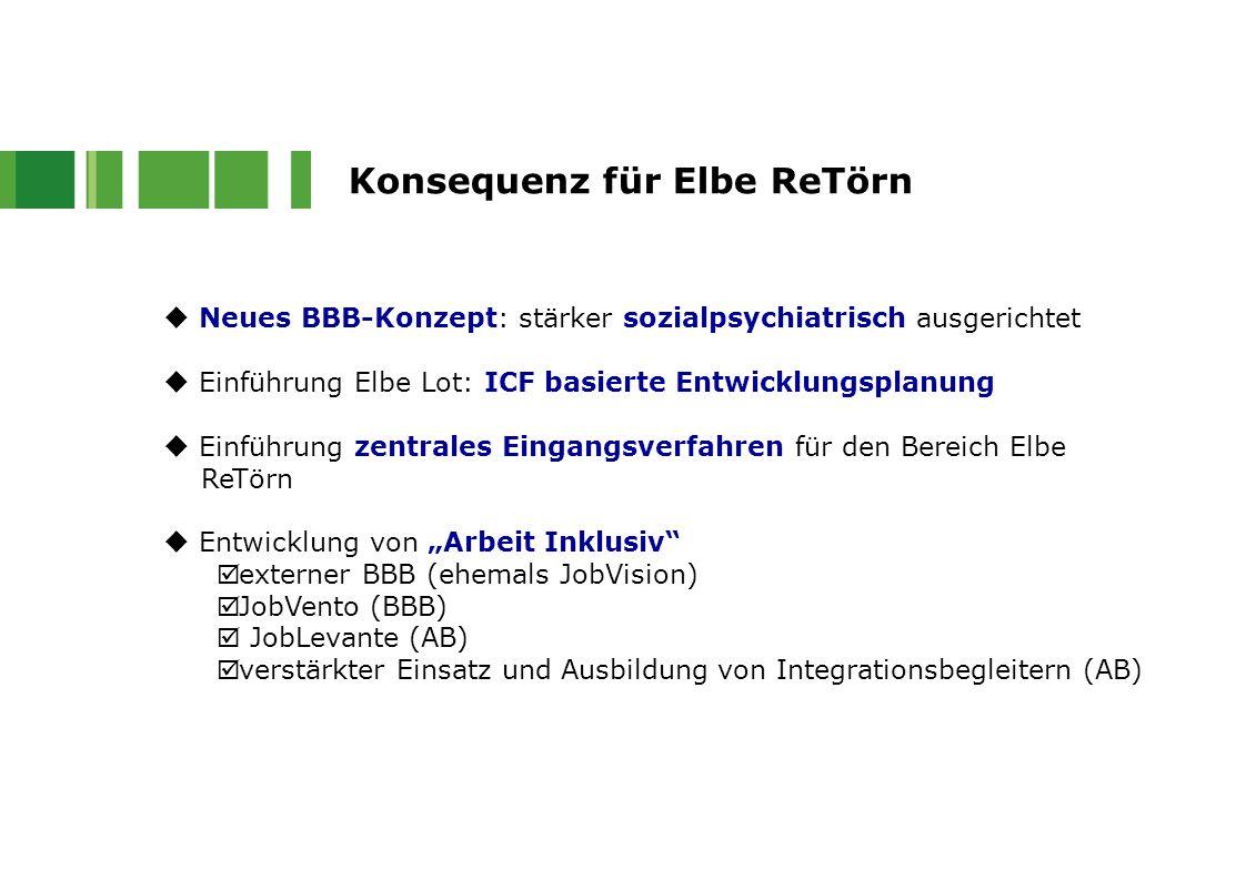 Konsequenz für Elbe ReTörn