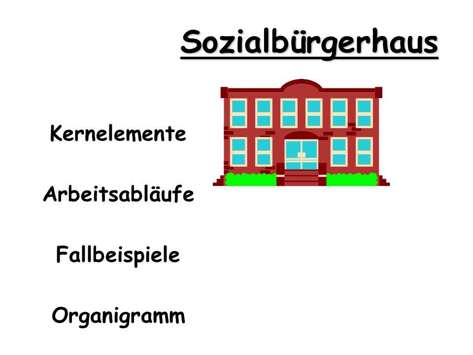 Kernelemente Arbeitsabläufe Fallbeispiele Organigramm