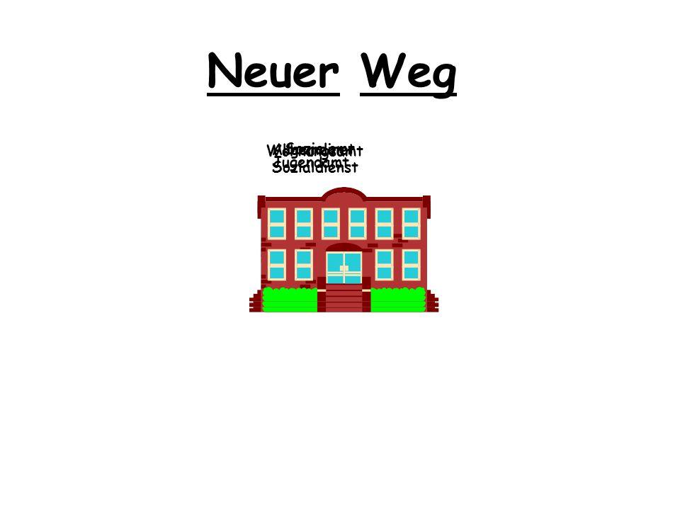 Neuer Weg Sozialamt Wohnungsamt Allgemeiner Sozialdienst Jugendamt