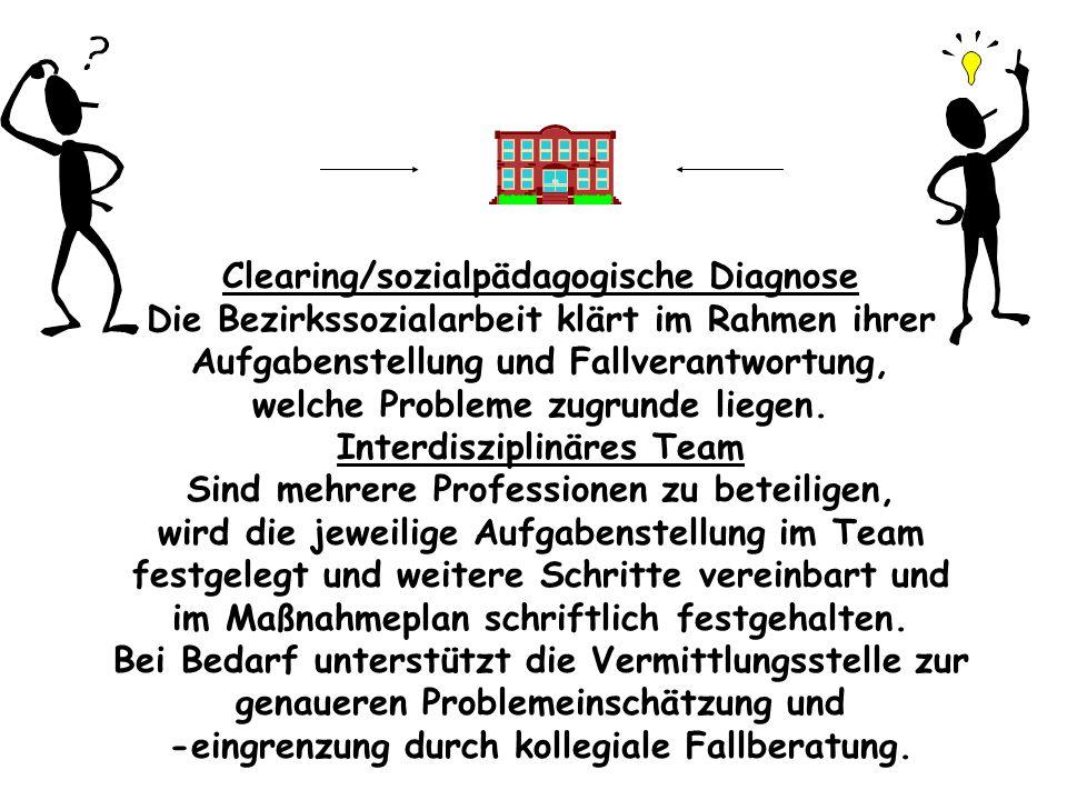 Clearing/sozialpädagogische Diagnose