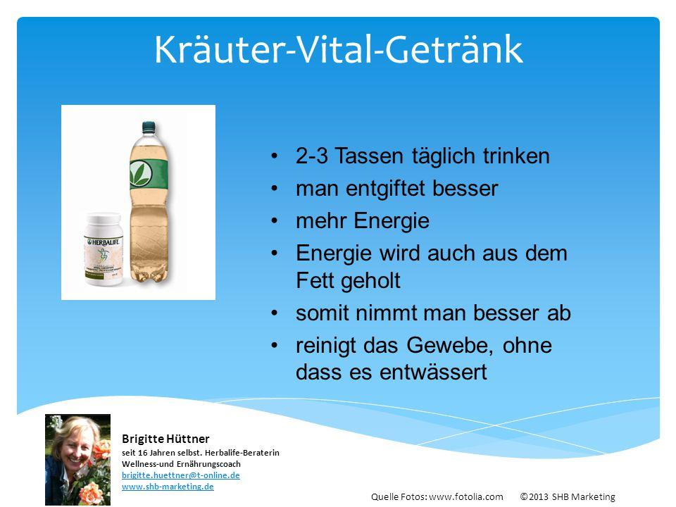 Kräuter-Vital-Getränk