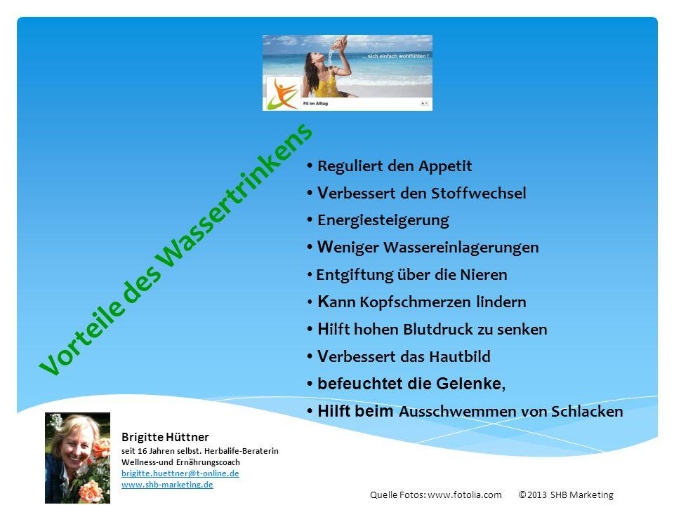Vorteile des Wassertrinkens