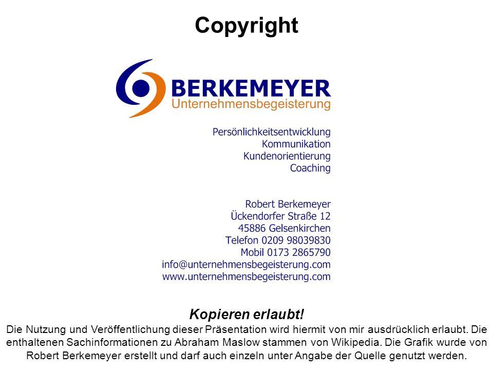 Copyright Kopieren erlaubt!