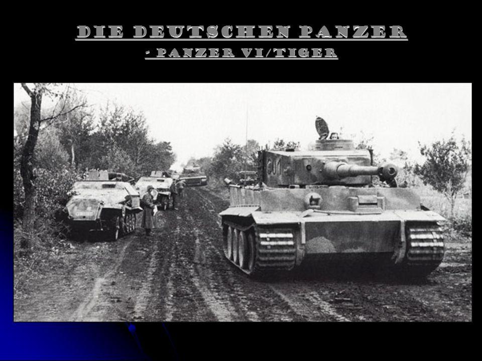 Die Deutschen Panzer - Panzer VI/Tiger.