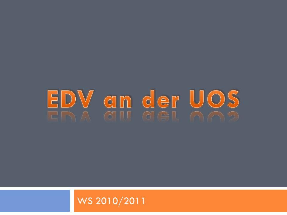 EDV an der UOS WS 2010/2011