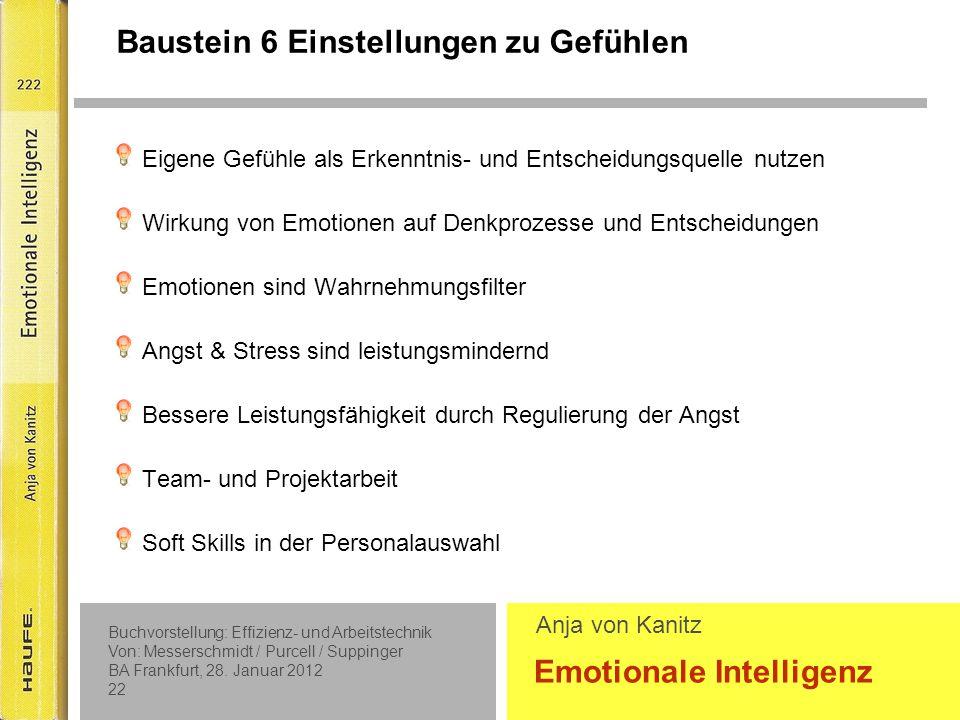 Baustein 4 die Gefühle anderer erkennen und verstehen