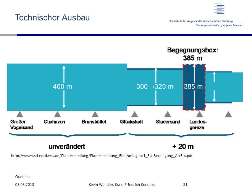 Technischer Ausbau http://www.wsd-nord.wsv.de/Planfeststellung/Planfeststellung_Elbe/anlagen/1_EU-Beteiligung_Art6-4.pdf.