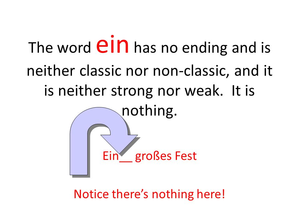 Ein__ großes Fest Notice there's nothing here!