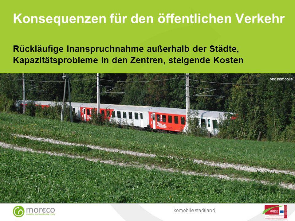 Konsequenzen für den öffentlichen Verkehr