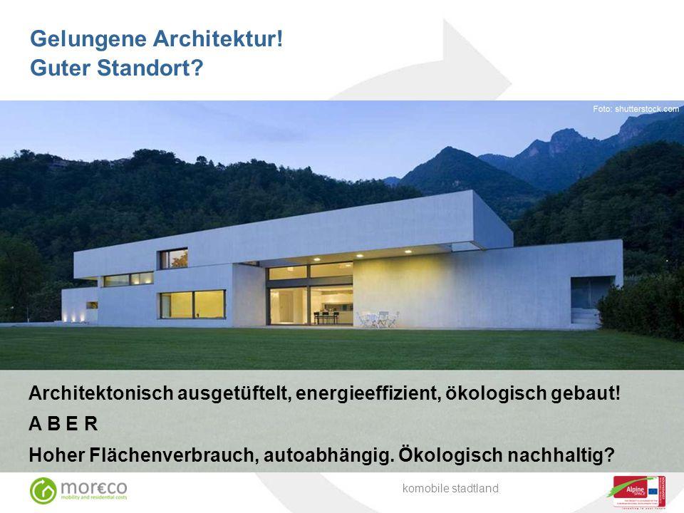 Gelungene Architektur! Guter Standort