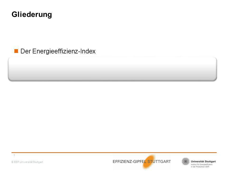 Gliederung Der Energieeffizienz-Index