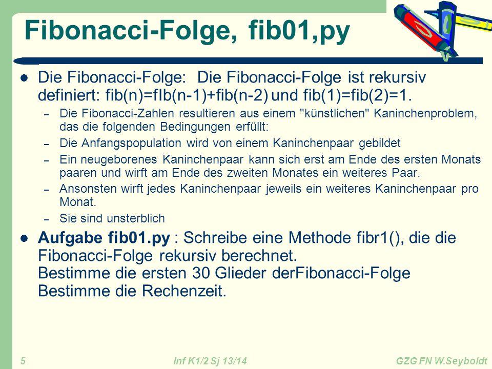 Fibonacci-Folge, fib01,py