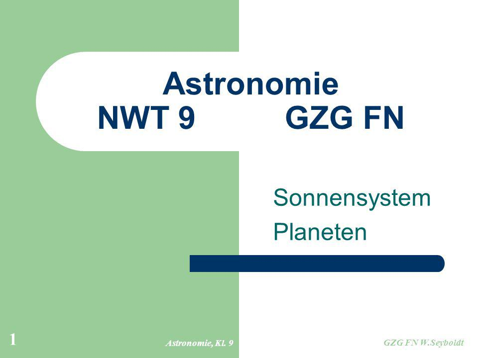 Sonnensystem Planeten