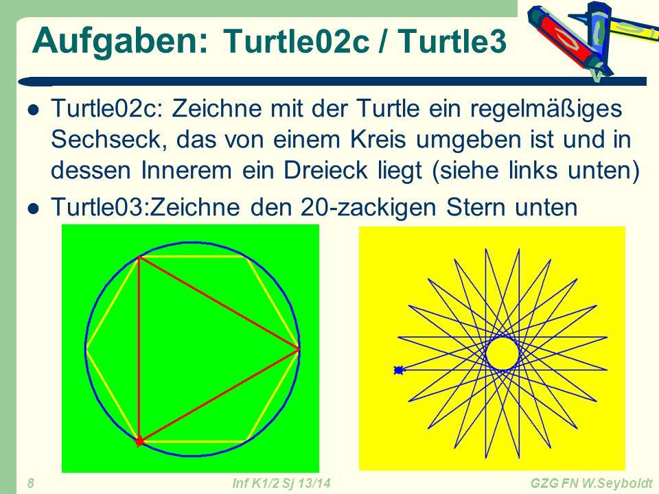 Aufgaben: Turtle02c / Turtle3