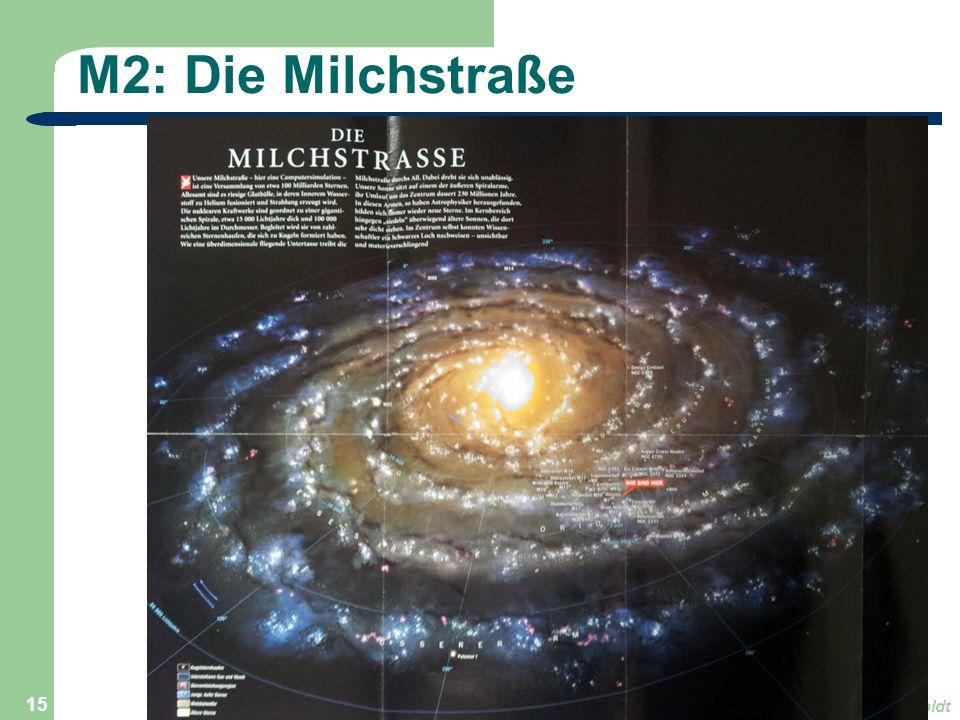 M2: Die Milchstraße Astronomie, Kl. 9, Version Sj 13/14