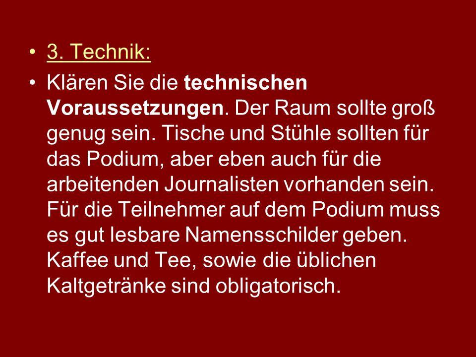 3. Technik: