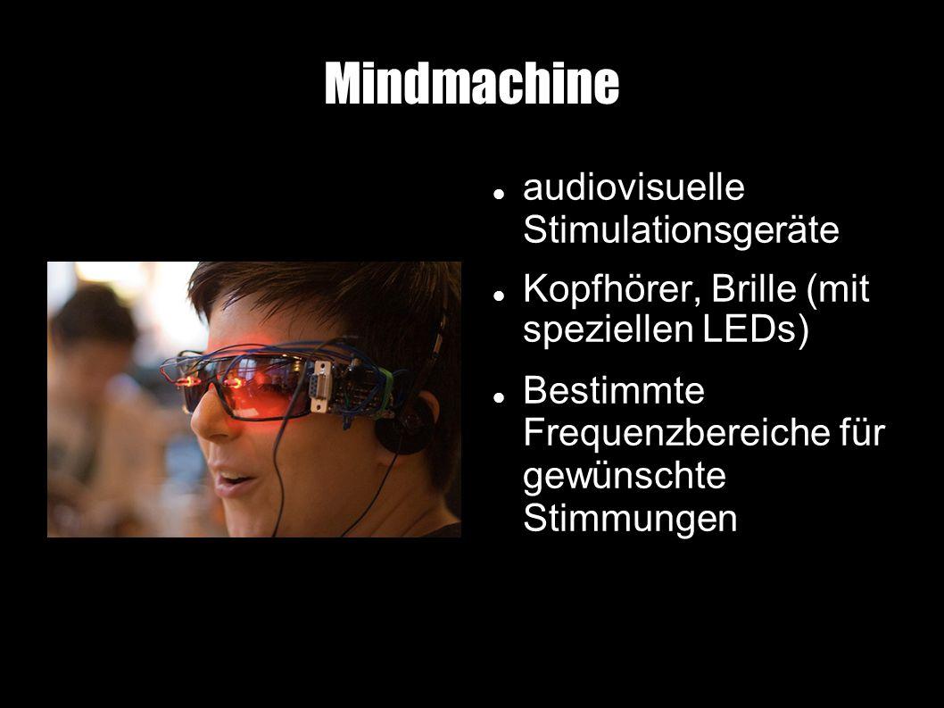 Mindmachine audiovisuelle Stimulationsgeräte