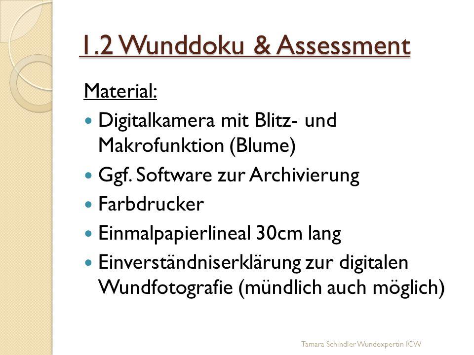 1.2 Wunddoku & Assessment Material:
