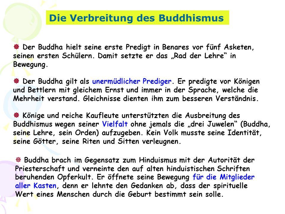 Die Verbreitung des Buddhismus
