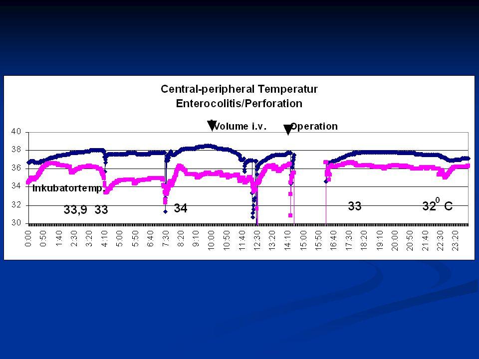 Bild eines kleinen FG´s mit NEC, hohe Temperaturunterschiede, bei langsam steigender zentraler Temp.
