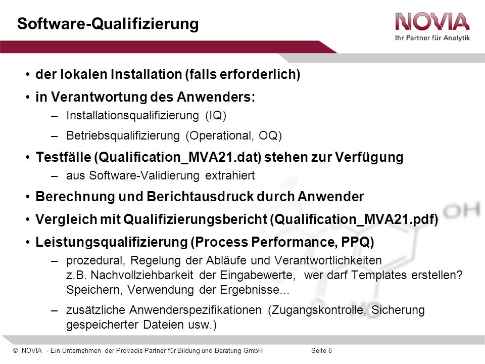Software-Qualifizierung