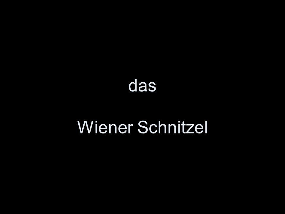 das Wiener Schnitzel