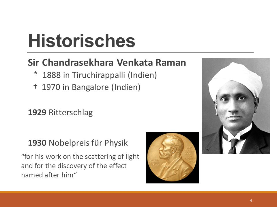 Historisches Sir Chandrasekhara Venkata Raman
