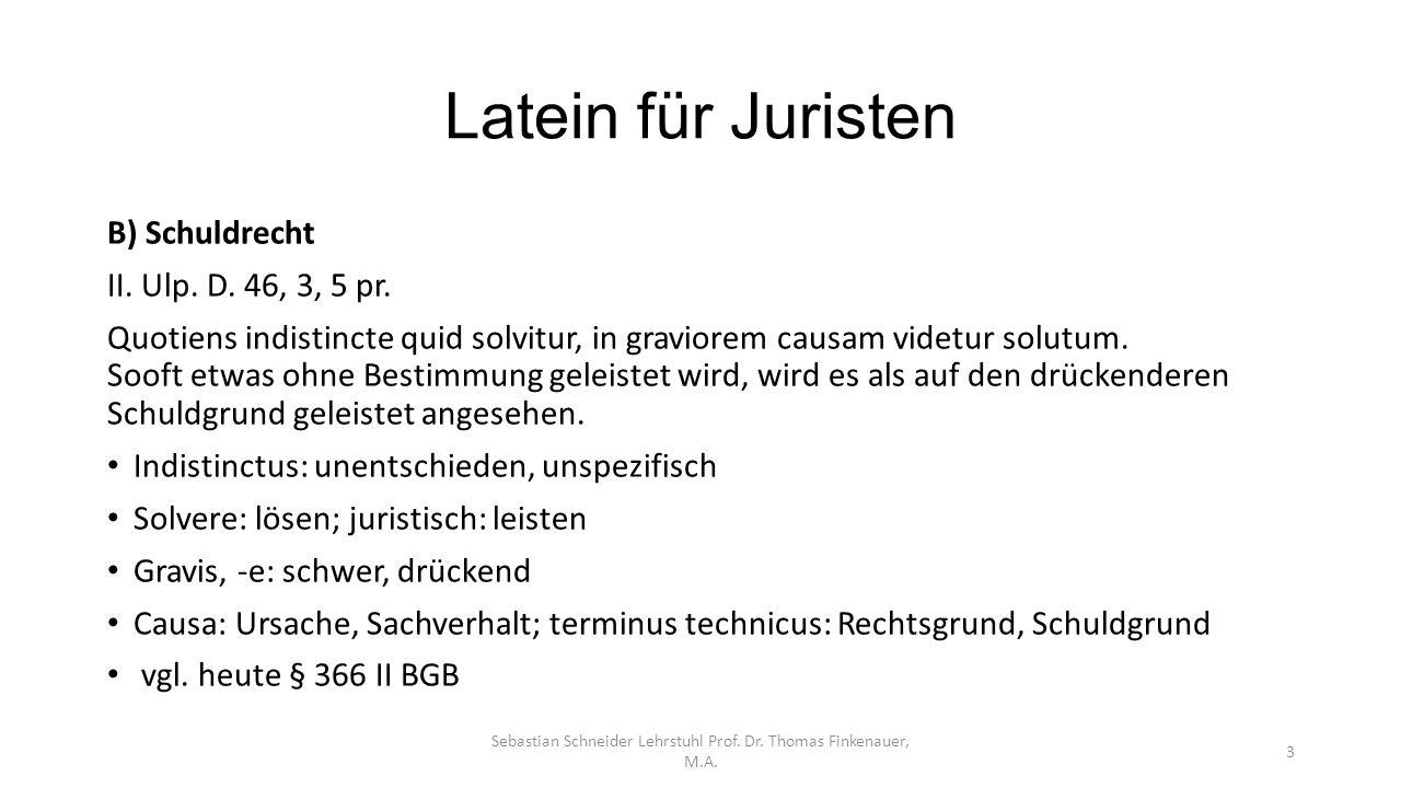 Sebastian Schneider Lehrstuhl Prof. Dr. Thomas Finkenauer, M.A.