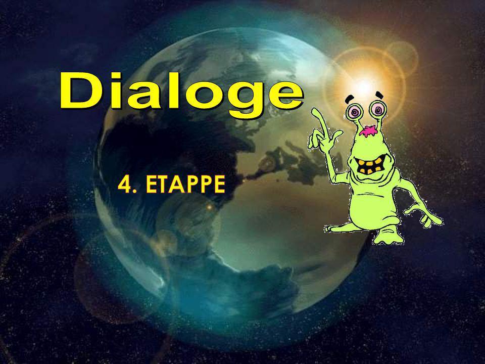 Dialoge 4. ETAPPE Составление диалога по опорным выражениям