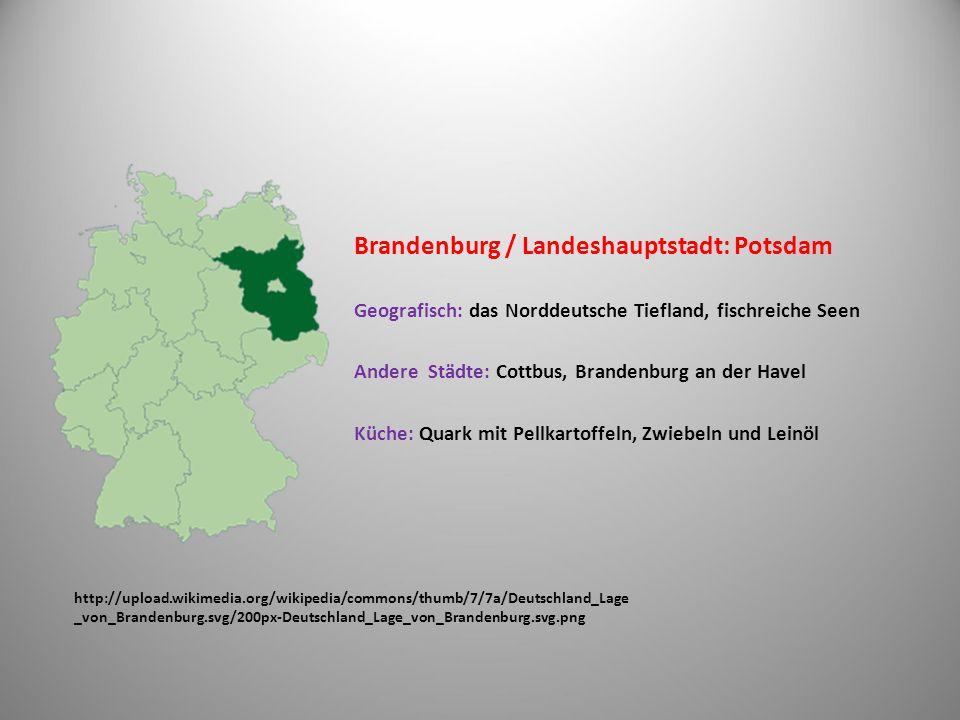 Brandenburg / Landeshauptstadt: Potsdam