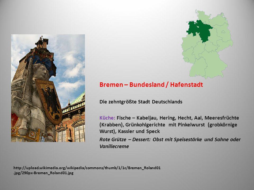 Bremen – Bundesland / Hafenstadt
