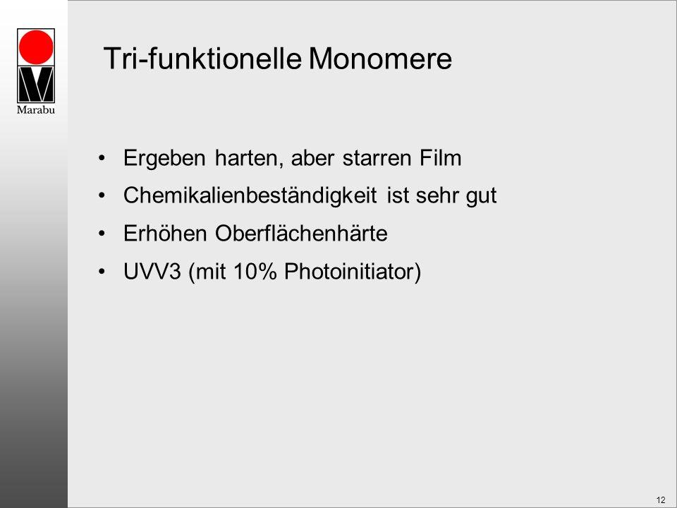 Tri-funktionelle Monomere