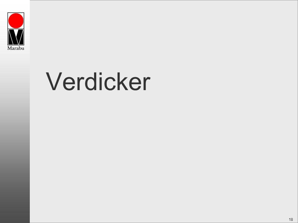Verdicker