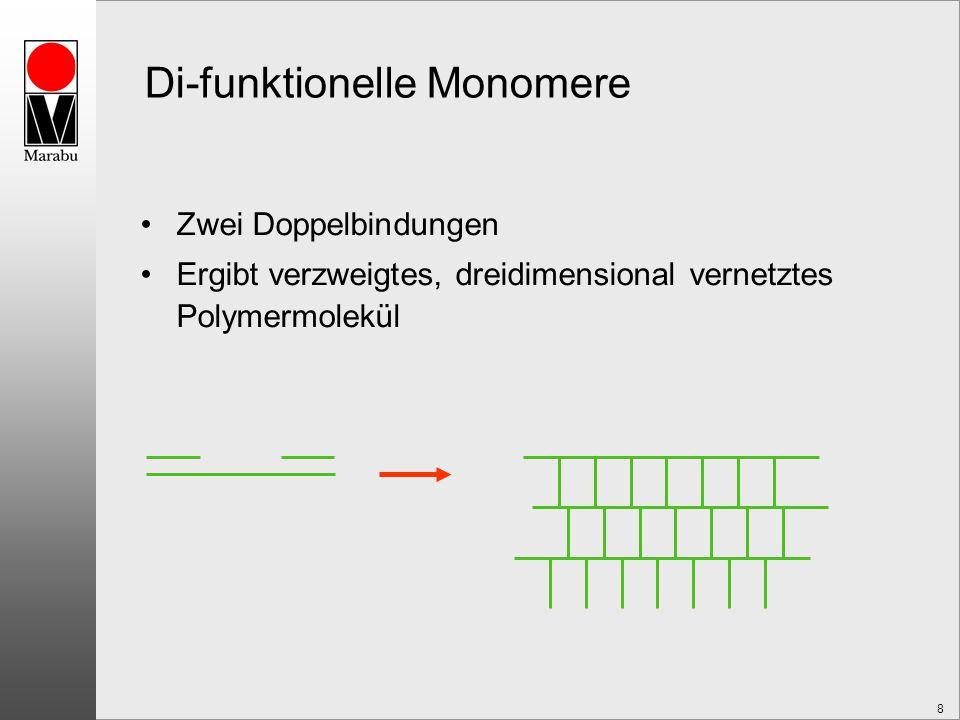 Di-funktionelle Monomere