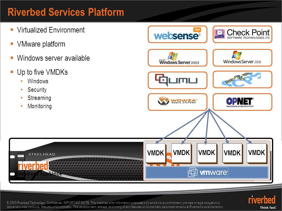 Riverbed Services Platform