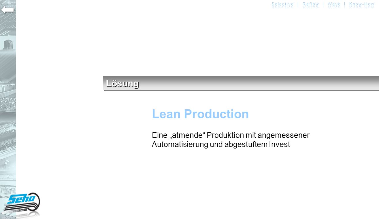 Lösung Lean Production