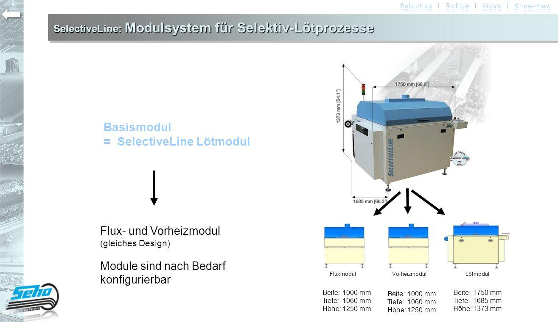 SelectiveLine: Modulsystem für Selektiv-Lötprozesse