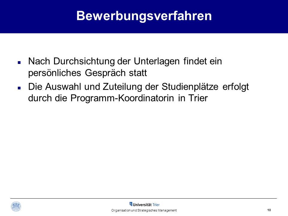 Organisation und Strategisches Management