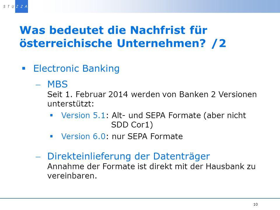 Was bedeutet die Nachfrist für österreichische Unternehmen /2
