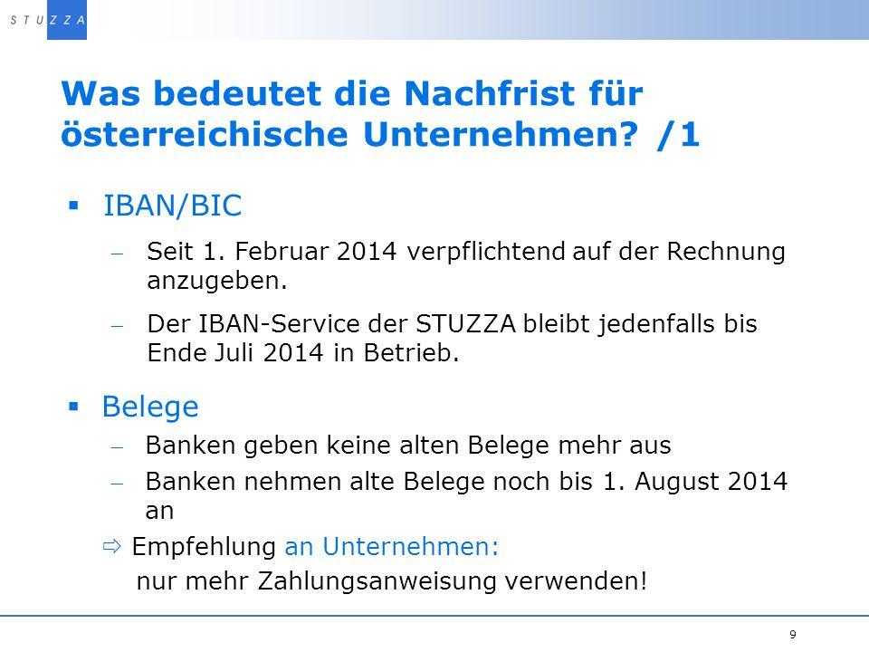 Was bedeutet die Nachfrist für österreichische Unternehmen /1