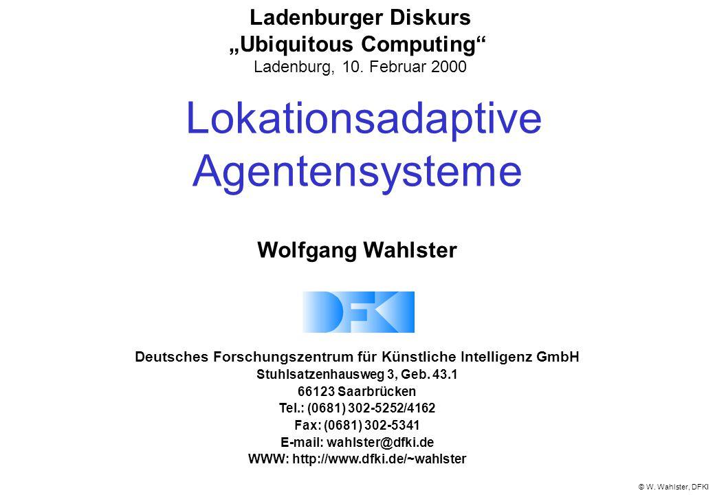 Lokationsadaptive Agentensysteme