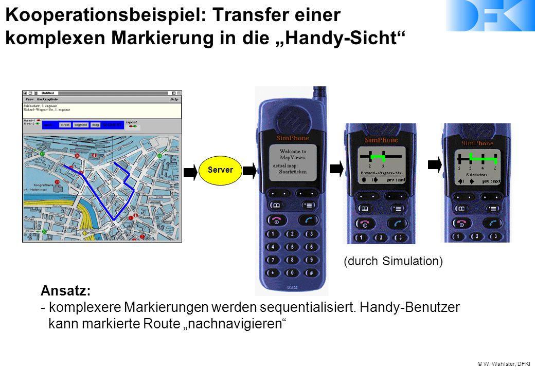 """Kooperationsbeispiel: Transfer einer komplexen Markierung in die """"Handy-Sicht"""