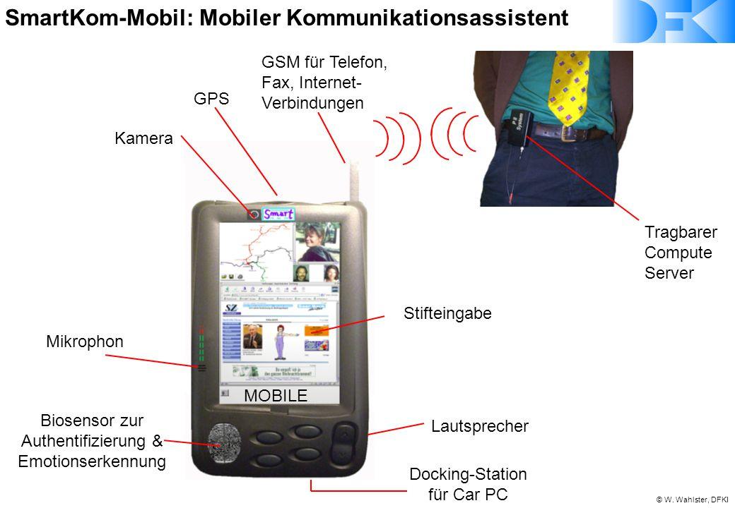 SmartKom-Mobil: Mobiler Kommunikationsassistent