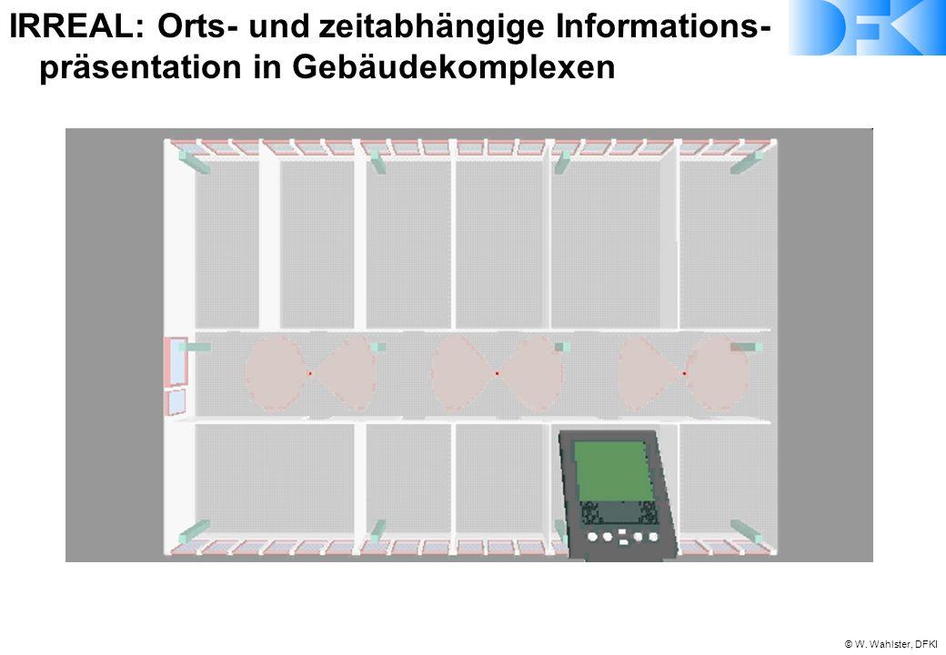 IRREAL:. Orts- und zeitabhängige Informations-